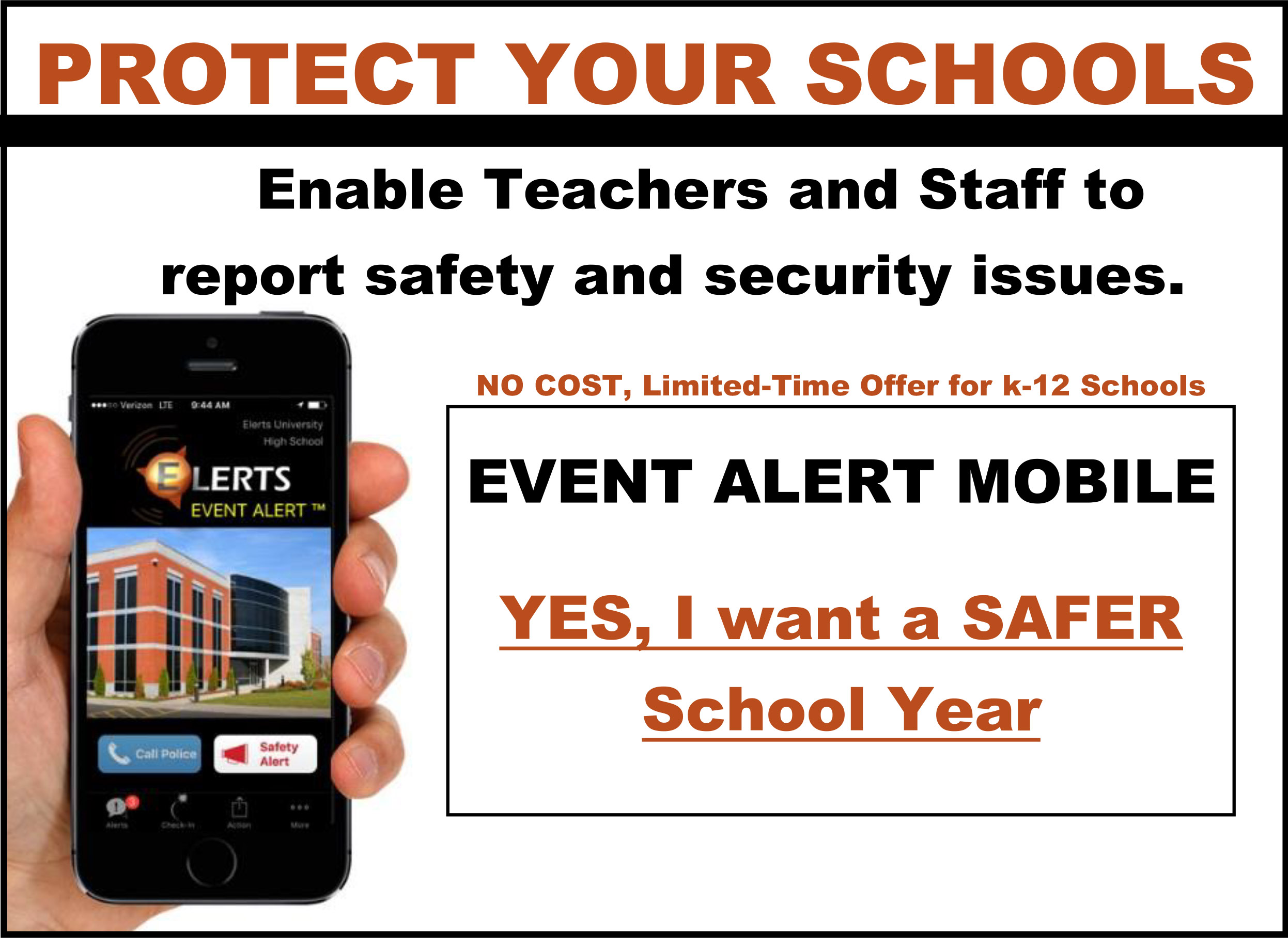 Protect your schools