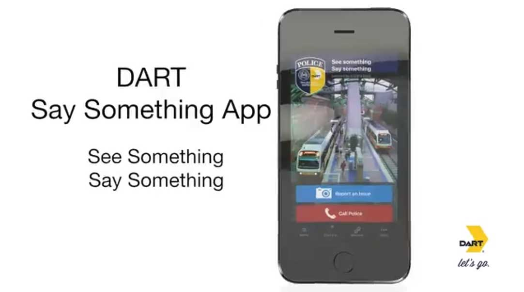 DART Say Something App