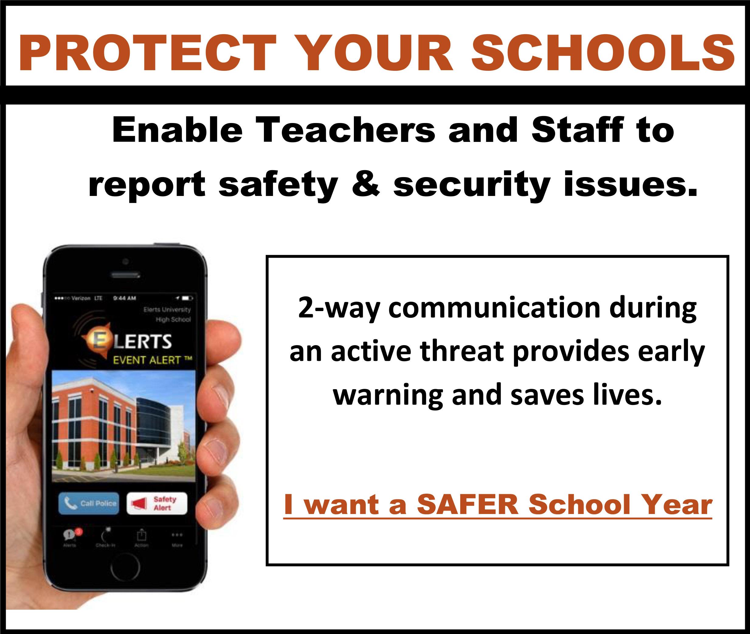 BAck to School Event Alert