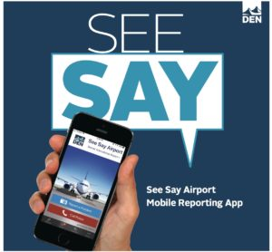 Denver International Airport Launches New Emergency Reporting App