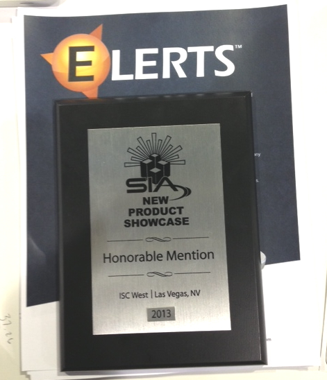 ELERTS ISC Award
